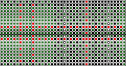 sinclair tartan charted for needlepoint belt